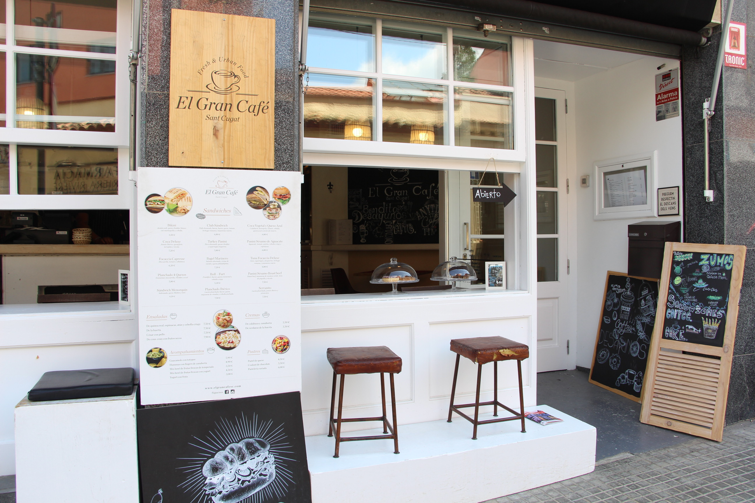 914d875aa BEAUTIFUL COFFEE & RESTAURANT TRANSFER IN THE CENTER OF SANT CUGAT ...
